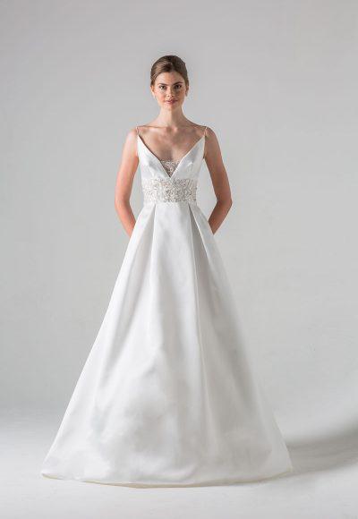 Sweetheart Strapless A-line Chiffon Wedding Dress | Kleinfeld Bridal