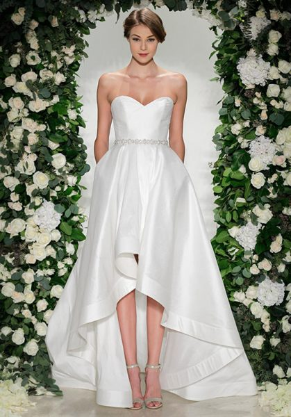 A-Line Wedding Dress by Anne Barge - Image 1