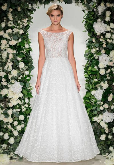 A-Line Wedding Dress by Anne Barge