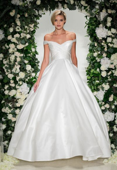 Ball Gown Wedding Dress by Anne Barge
