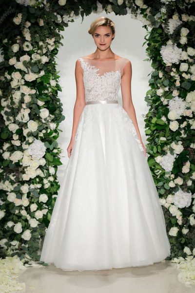 Ball Gown Wedding Dress by Anne Barge - Image 1