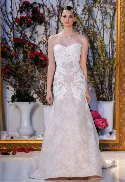 Fit And Flare Wedding Dress by Anne Barge