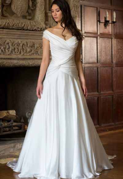 A-Line Wedding Dress by Augusta Jones