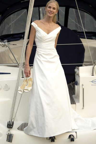 A-Line Wedding Dress - Image 1