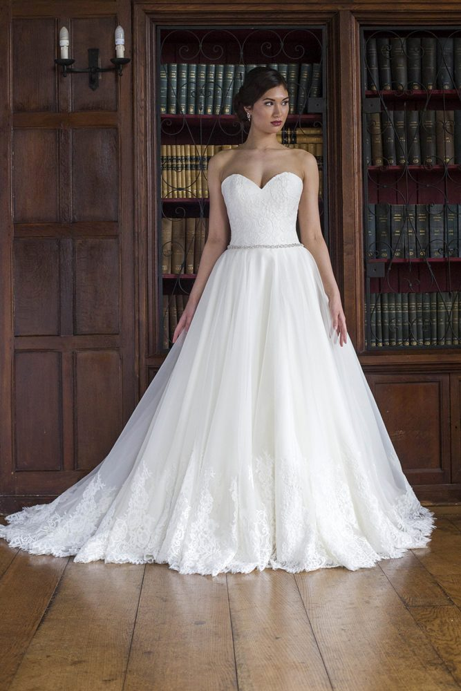 Ball Gown Wedding Dress - Image 1