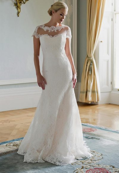 Fit And Flare Wedding Dress by Augusta Jones