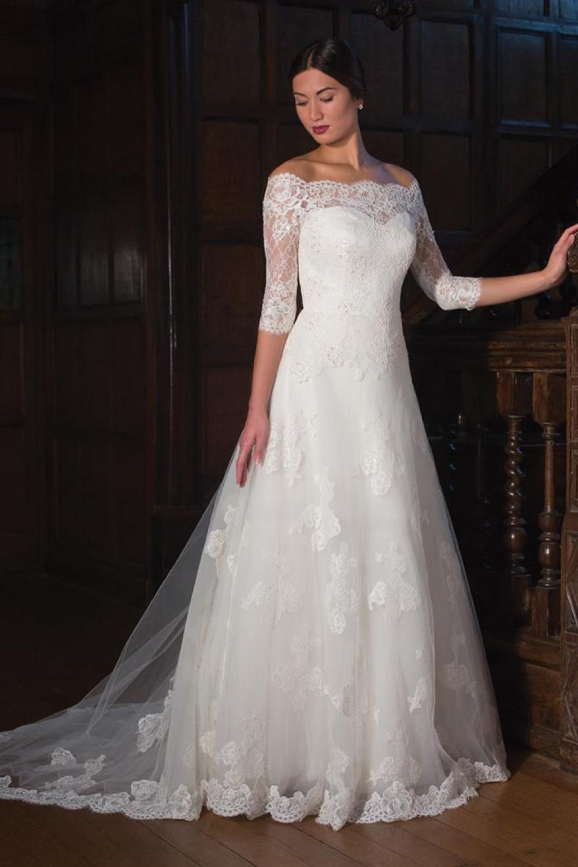 Romantic A-line Wedding Dress | Kleinfeld Bridal