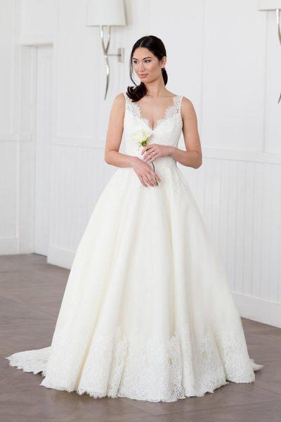Romantic Ball Gown Wedding Dress - Image 1