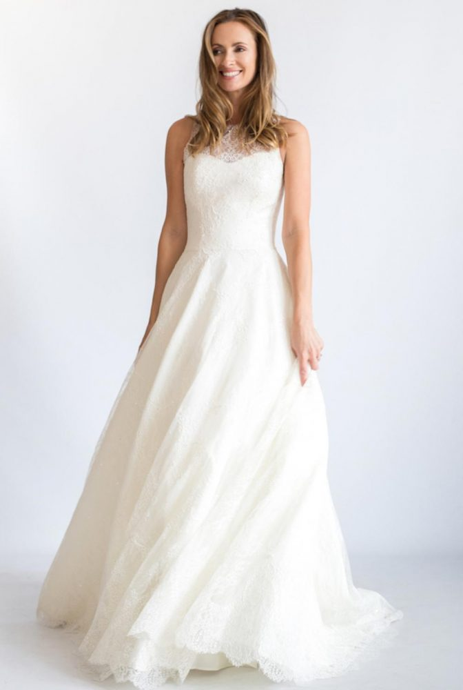 Romantic A-line Wedding Dress - Image 1