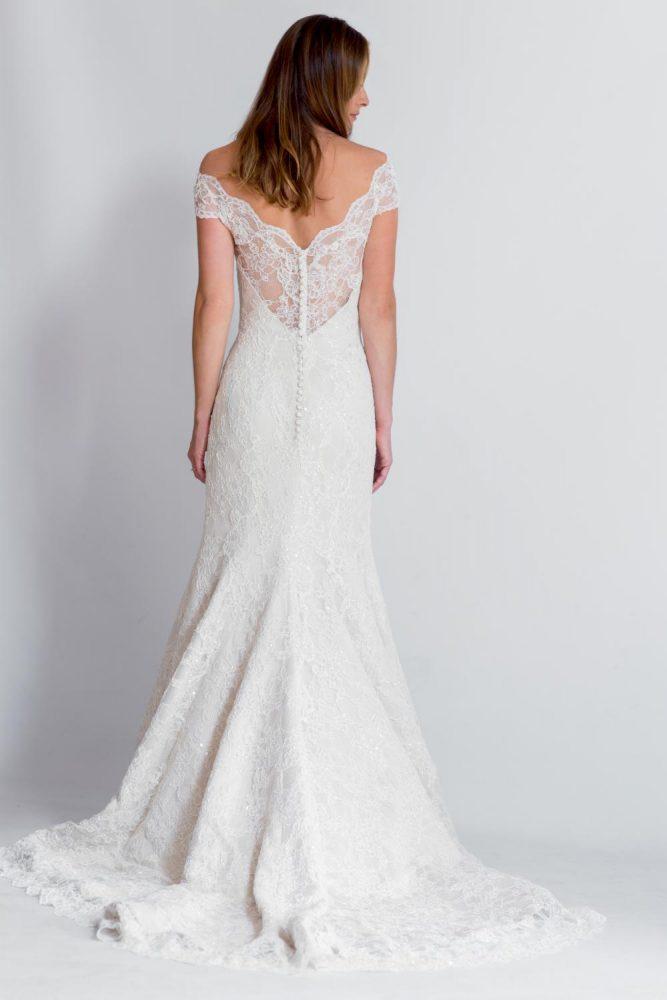Romantic Mermaid Wedding Dress - Image 1
