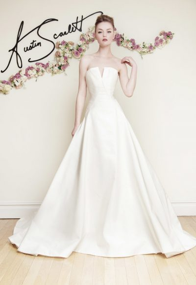A-Line Wedding Dress by Austin Scarlett