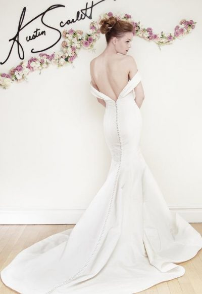 Fit And Flare Wedding Dress by Austin Scarlett
