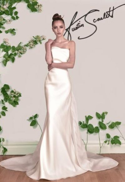 Sheath Wedding Dress by Austin Scarlett