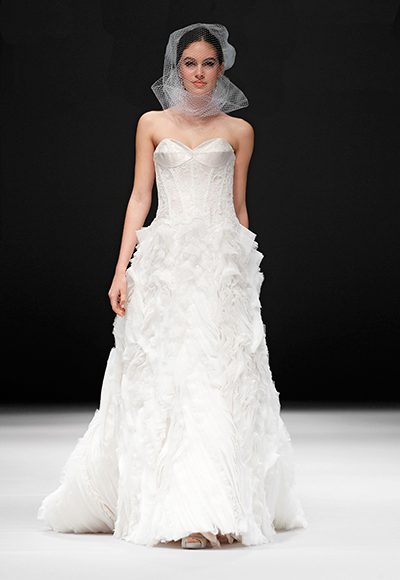 A-Line Wedding Dress by Badgley Mischka