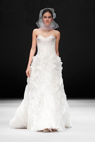 A-Line Wedding Dress by Badgley Mischka - Image 1
