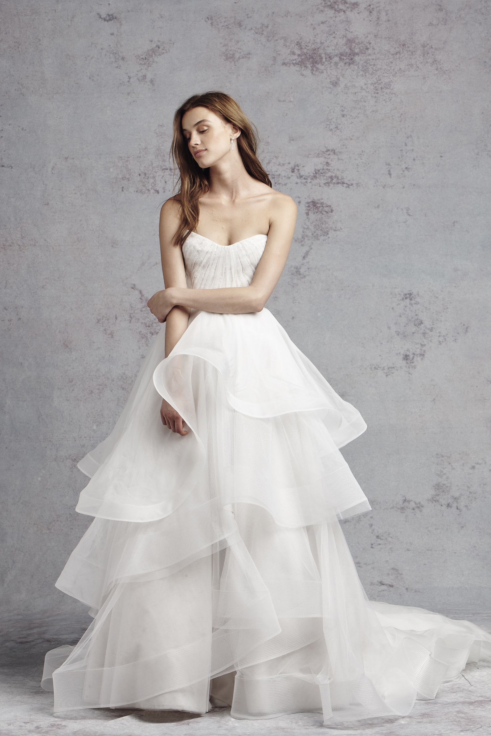 A line wedding dress kleinfeld bridal junglespirit Gallery