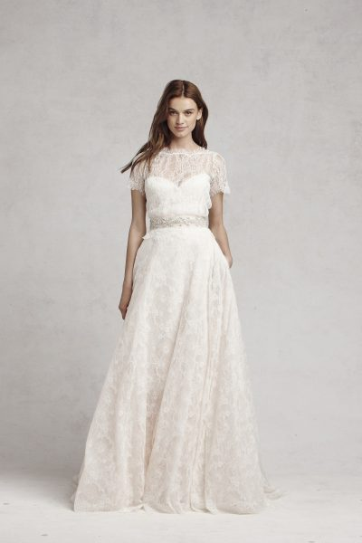 A-Line Skirt by Bliss by Monique Lhuillier - Image 1