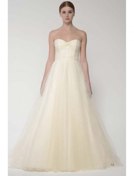 A-Line Wedding Dress by Bliss by Monique Lhuillier - Image 1