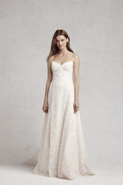 A Line Wedding Dress By Bliss Monique Lhuillier Image 1