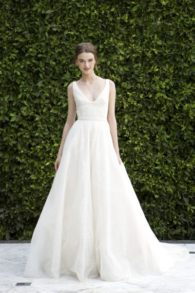 Charming A Line Wedding Dress Kleinfeld Bridal