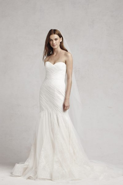 Fit And Flare Wedding Dress by Bliss by Monique Lhuillier - Image 1