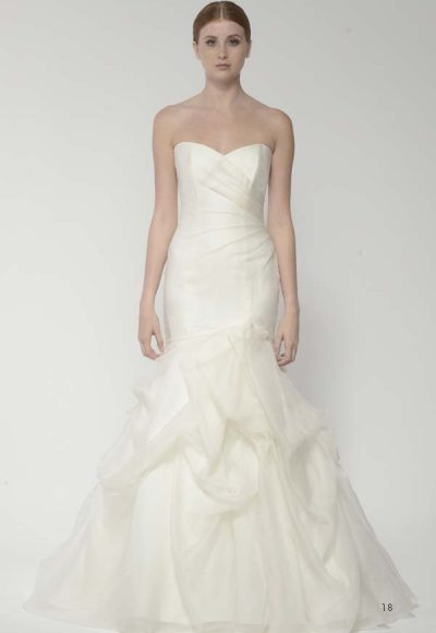 Refined Mermaid Wedding Dress by Bliss by Monique Lhuillier