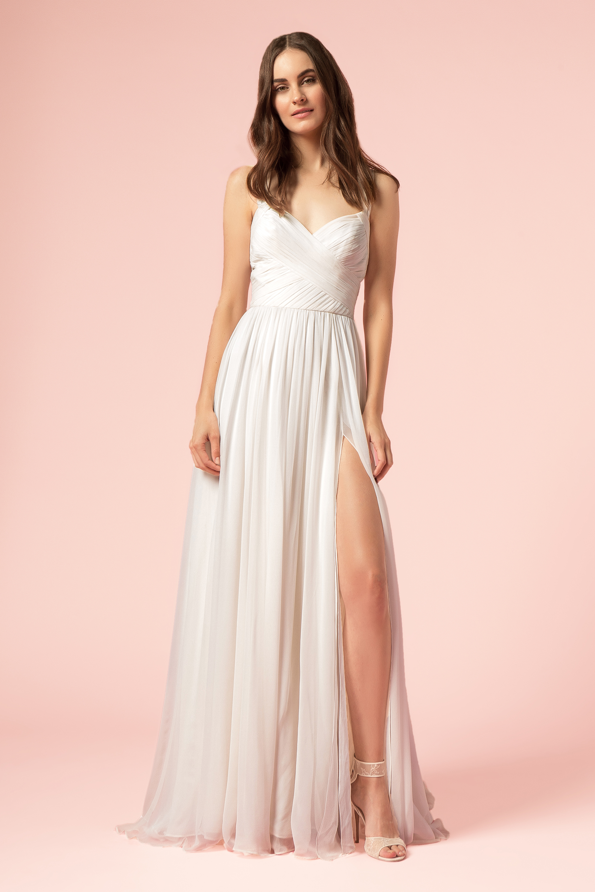 Simple Sheath Wedding Dress | Kleinfeld Bridal