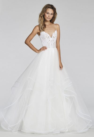 Romantic A-line Wedding Dress by BLUSH by Hayley Paige
