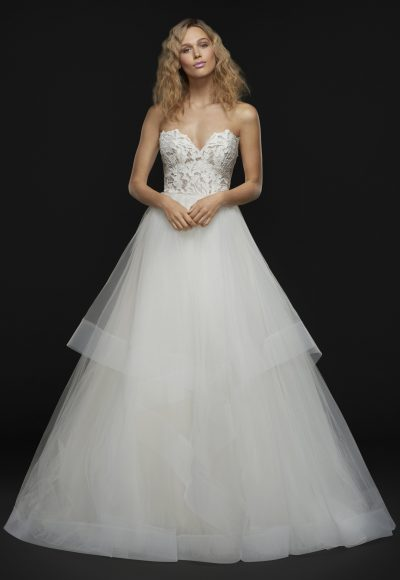 Romantic Ball Gown Wedding Dress by BLUSH by Hayley Paige