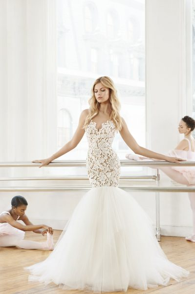 Y Mermaid Wedding Dress By Blush Hayley Paige Image 1