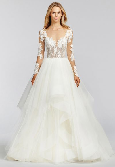 Trendy A-line Wedding Dress by BLUSH by Hayley Paige