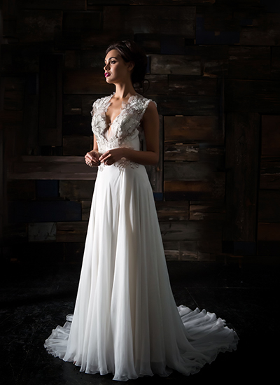 A-Line Wedding Dress by Carol Hannah - Image 1