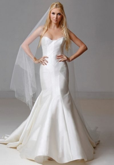 Fit And Flare Wedding Dress by Carol Hannah