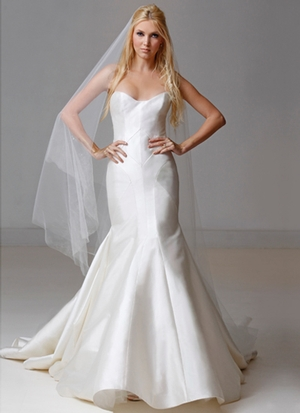 Fit And Flare Wedding Dress by Carol Hannah - Image 1