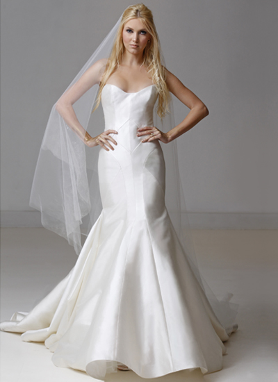 Mermaid Wedding Dress by Carol Hannah - Image 1