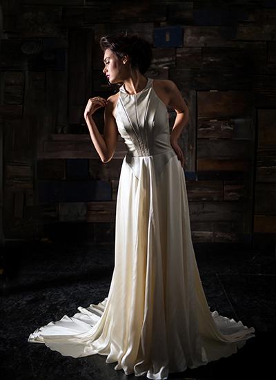 Sheath Wedding Dress by Carol Hannah - Image 1