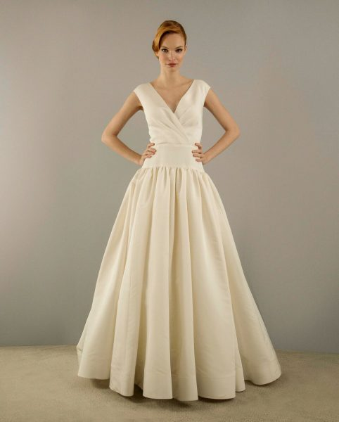 A-Line Wedding Dress by Christian Siriano - Image 1