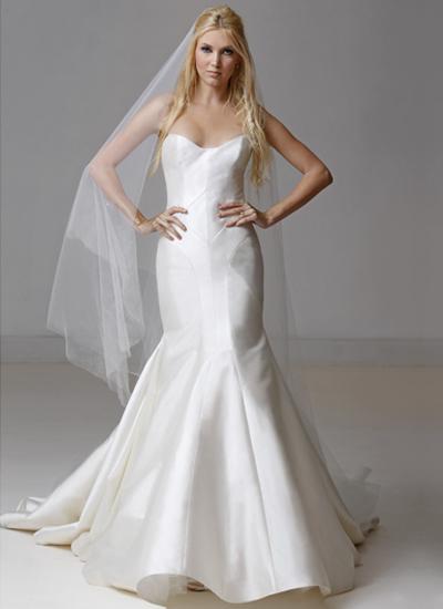 Carol Hannah Mermaid Wedding Dress by Christian Siriano - Image 1