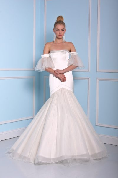 Fit And Flare Wedding Dress by Christian Siriano - Image 1