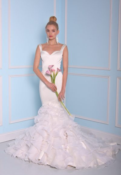 Mermaid Wedding Dress by Christian Siriano