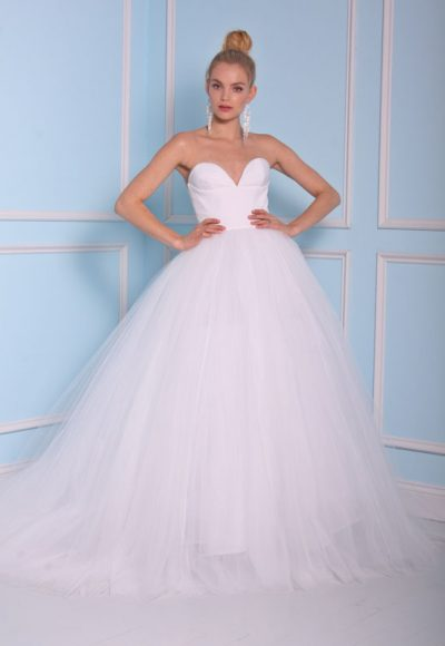 Modern Ball Gown Wedding Dress by Christian Siriano