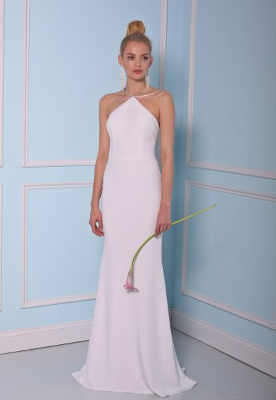 Sheath Wedding Dress by Christian Siriano