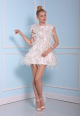 Short Wedding Dress by Christian Siriano - Image 1