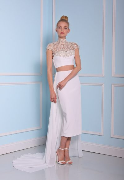 Tea Length Wedding Dress by Christian Siriano