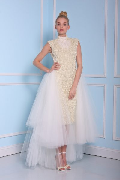 Tea Length Wedding Dress by Christian Siriano - Image 1