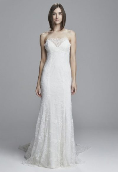 Fit And Flare Wedding Dress by Christos