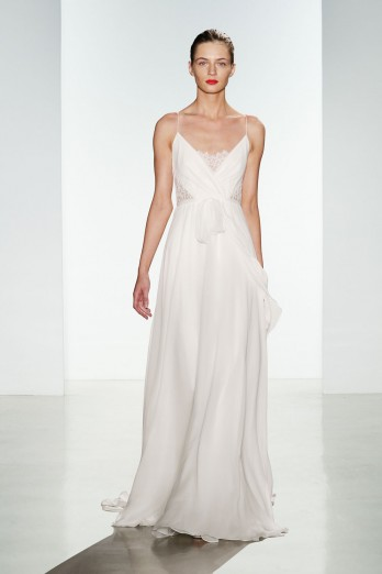 Sheath Wedding Dress by Christos - Image 1