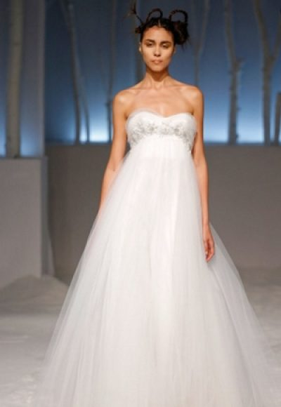 Ball Gown Wedding Dress by David Fielden