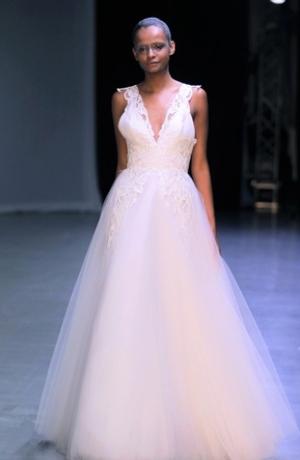 Ball Gown Wedding Dress by David Fielden - Image 1
