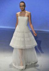 Tea Length Wedding Dress by David Fielden - Image 1